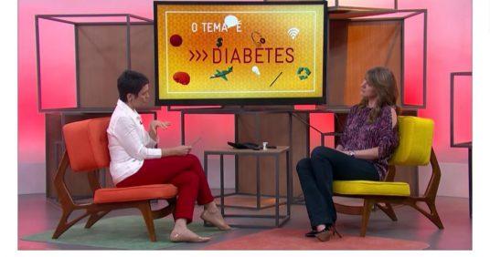 Como Será entrevista a Dra. Cintia Cercato sobre o tema Diabetes